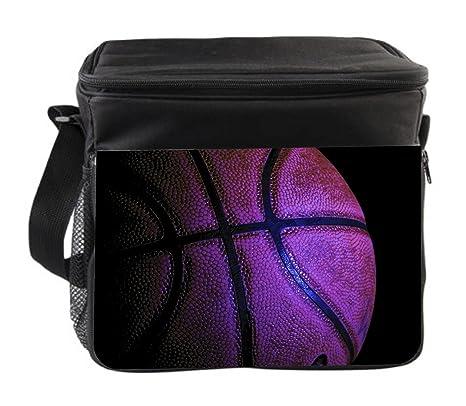 Amazon.com: Basketball Black Insulated Thermal - Cooler Bag ...