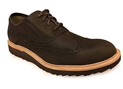 Rockport Mens Union Street Wing Shoes Chocolate (7.5) 0ba3086784b