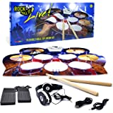 Rock And Roll It - Drum Live! Flexible, Completely Portable, battery OR USB powered drum that gives you the view of…