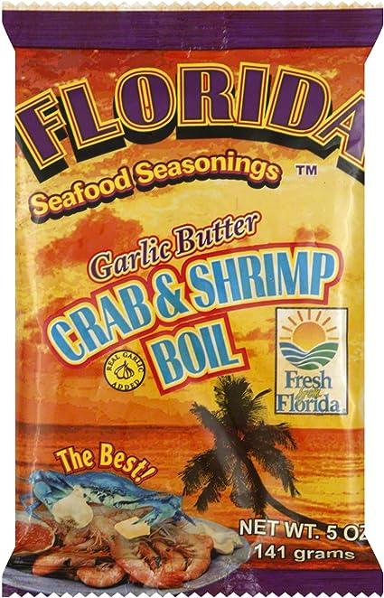 Amazon Com Florida Seafood Seasonings Crab Shrimp Boil Garlic