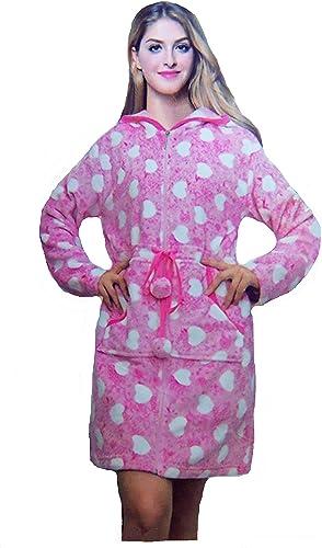 Mundo Pijamas - Albornoz con Capucha para Mujer, diseño de ...