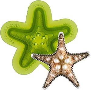 Marvelous Molds Starfish Silicone Mold   Cake Decorating with Fondant and Gumpaste Icing and More