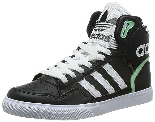 adidas Extaball W, Zapatillas de Deporte para Mujer, Negro/Blanco (Negbas/Ftwbla/Verhel), 42 EU: Amazon.es: Zapatos y complementos
