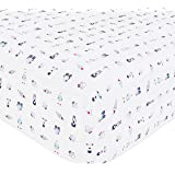 Babyletto Mini Crib Sheet, Galaxy