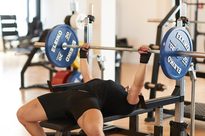 ATHLETIC AESTHETICS Bande de poignet Wrist wraps pour la musculation le bodybuilding le CrossFit et le fitness lot de 2 le cultismue 45cm//60cm Idéal pour les hommes et les femmes Tyson Fitness GmbH