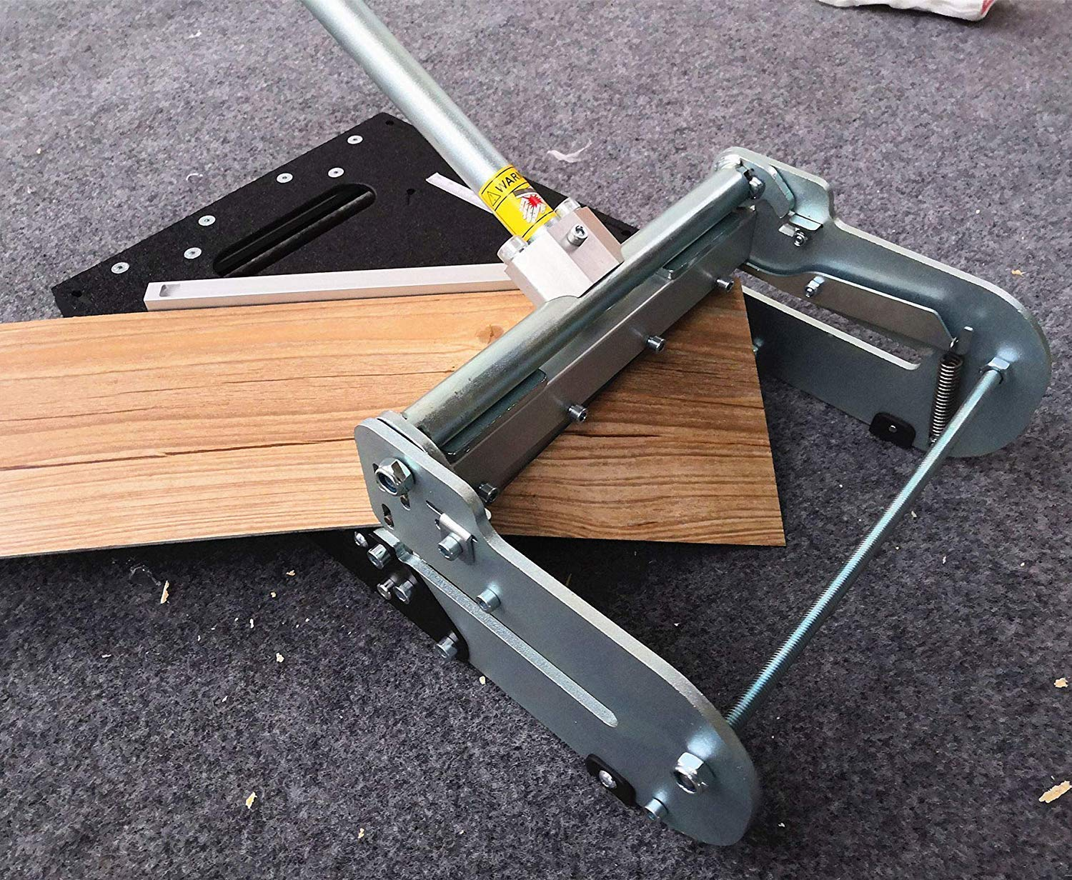 9-inch Vinyl flooring Cutter LVP-230; 9inch cutting width and 7 mm thick! best buy for cutting vinyl flooring! by MANTISTOL (Image #4)