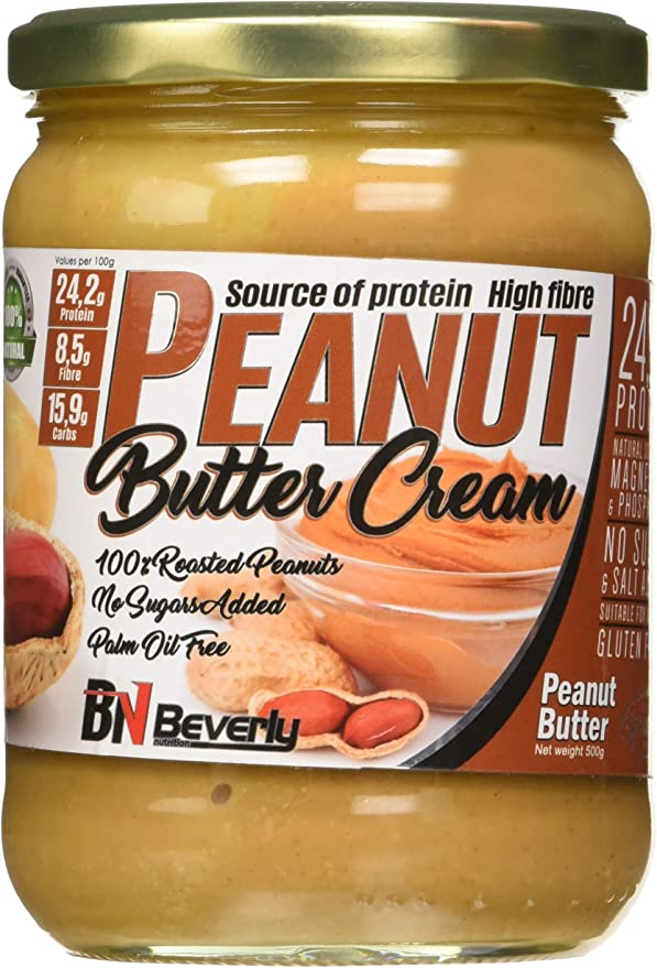 Beverly Nutrition Peanut Butter Cream 500G - 500 gr: Amazon ...