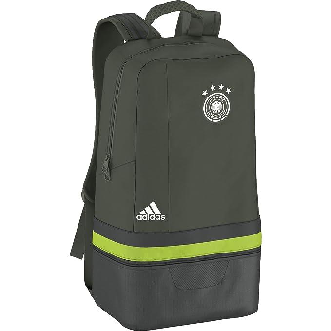 Federación Alemana de Fútbol 2015-2016 - Mochila oficial adidas, color verde, talla NS: Amazon.es: Deportes y aire libre