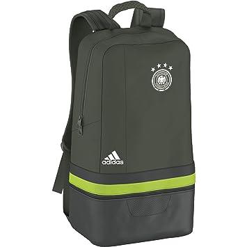 4ae461738 Federación Alemana de Fútbol 2015-2016 - Mochila oficial adidas, color  verde, talla NS: Amazon.es: Deportes y aire libre