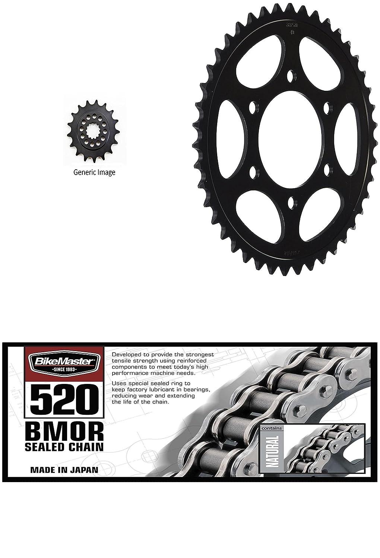 BikeMaster 520 BMOR sellado cadena, Sunstar delantero y ...