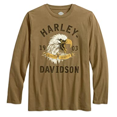 Harley Davidson Men S American Original Eagle T Shirt 96434 18vm