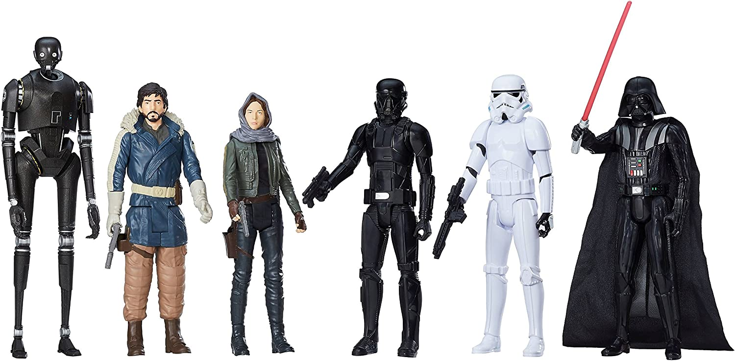 """NIB Star Wars Rogue One Action Figure 12"""" 6 Pack Target Exclusive Limited"""