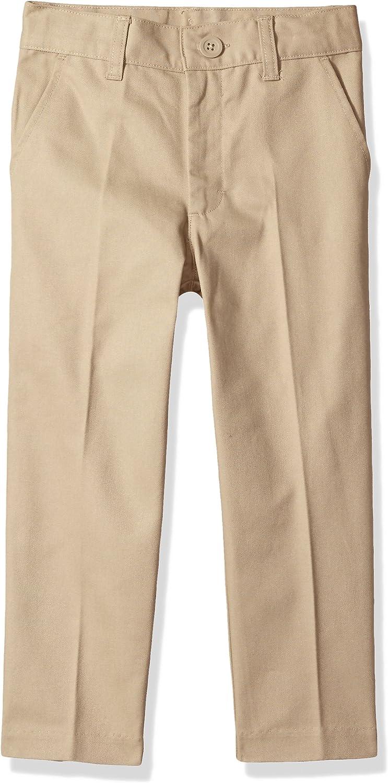 Classroom School Uniforms Boys Flat Front Pant: Clothing