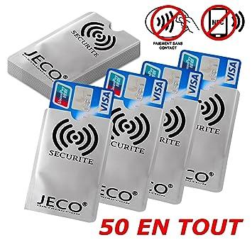 Lote de 50 - protección Tarjeta de Crédito NFC RFID sin ...