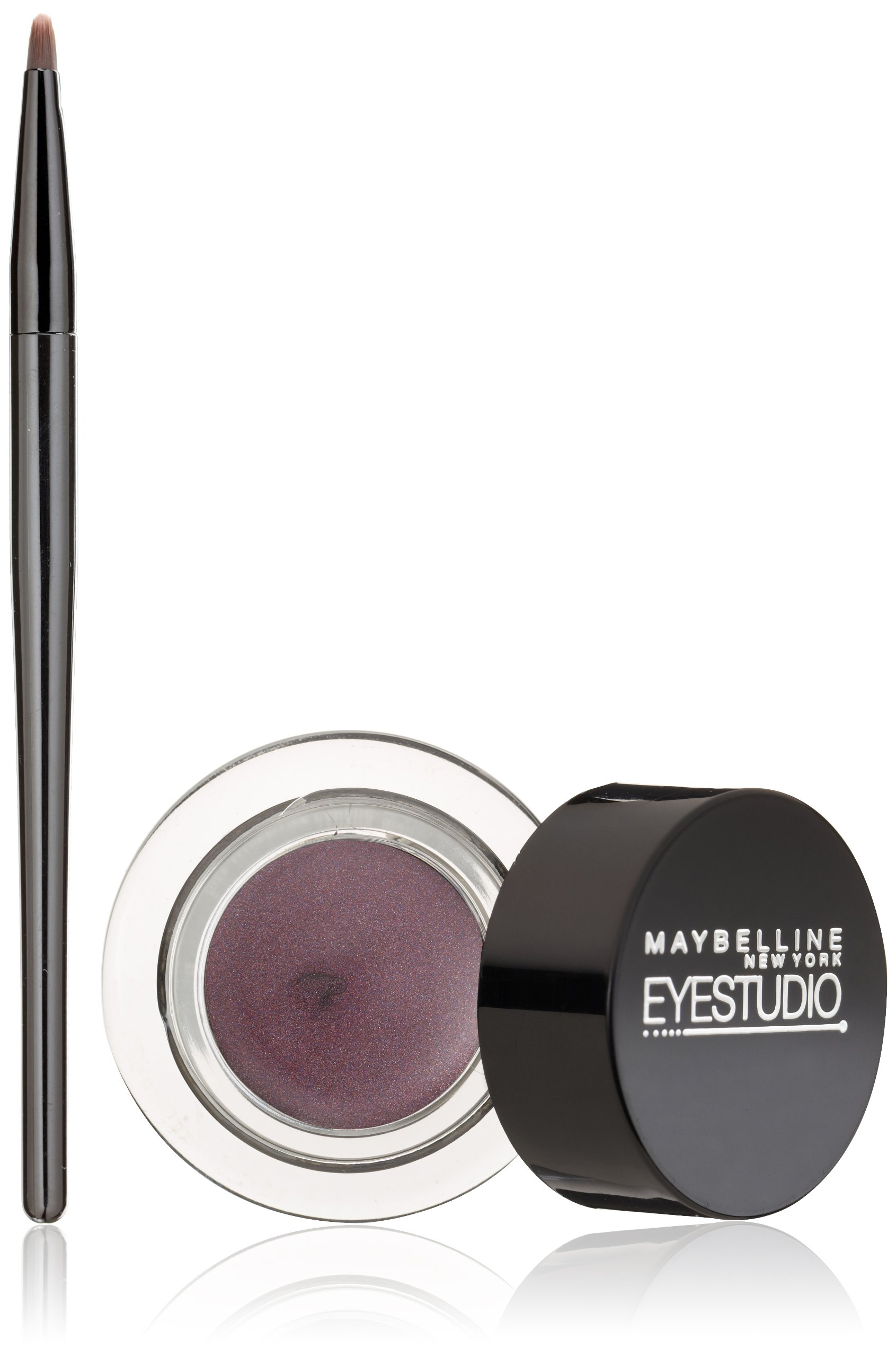 Maybelline New York Eye Studio Lasting Drama Gel Eyeliner, Eggplant 956, 0.106 Ounce