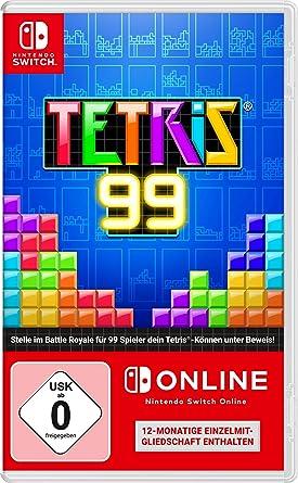 Tetris 99 + 12 Monate Nintendo Switch Online [Importacion Alemania]
