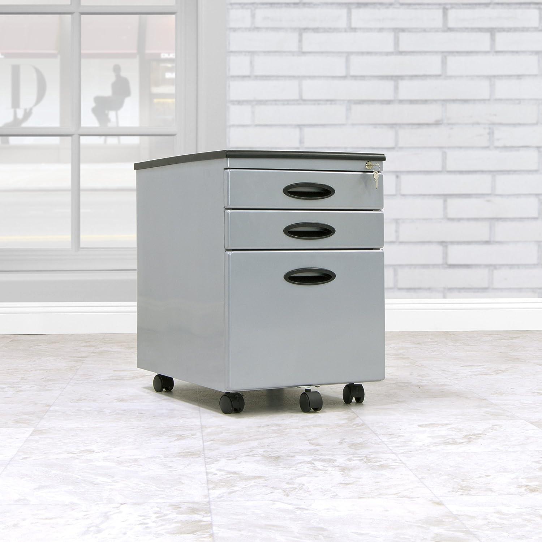 Calico Designs File Cabinet in Black 51100 51100BOX