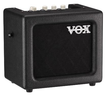 VOX Mini 3 G2 - Amplificador de guitarra, color negro