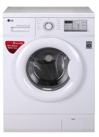 LG 7.0 kg Fully-Automatic Front Loading Washing Machine (FH0H3QDNL02, White)