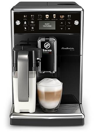 Philips Saeco PicoBaristo Deluxe SM5570/10 - Cafetera Súper Automática, 13 Bebidas de Café