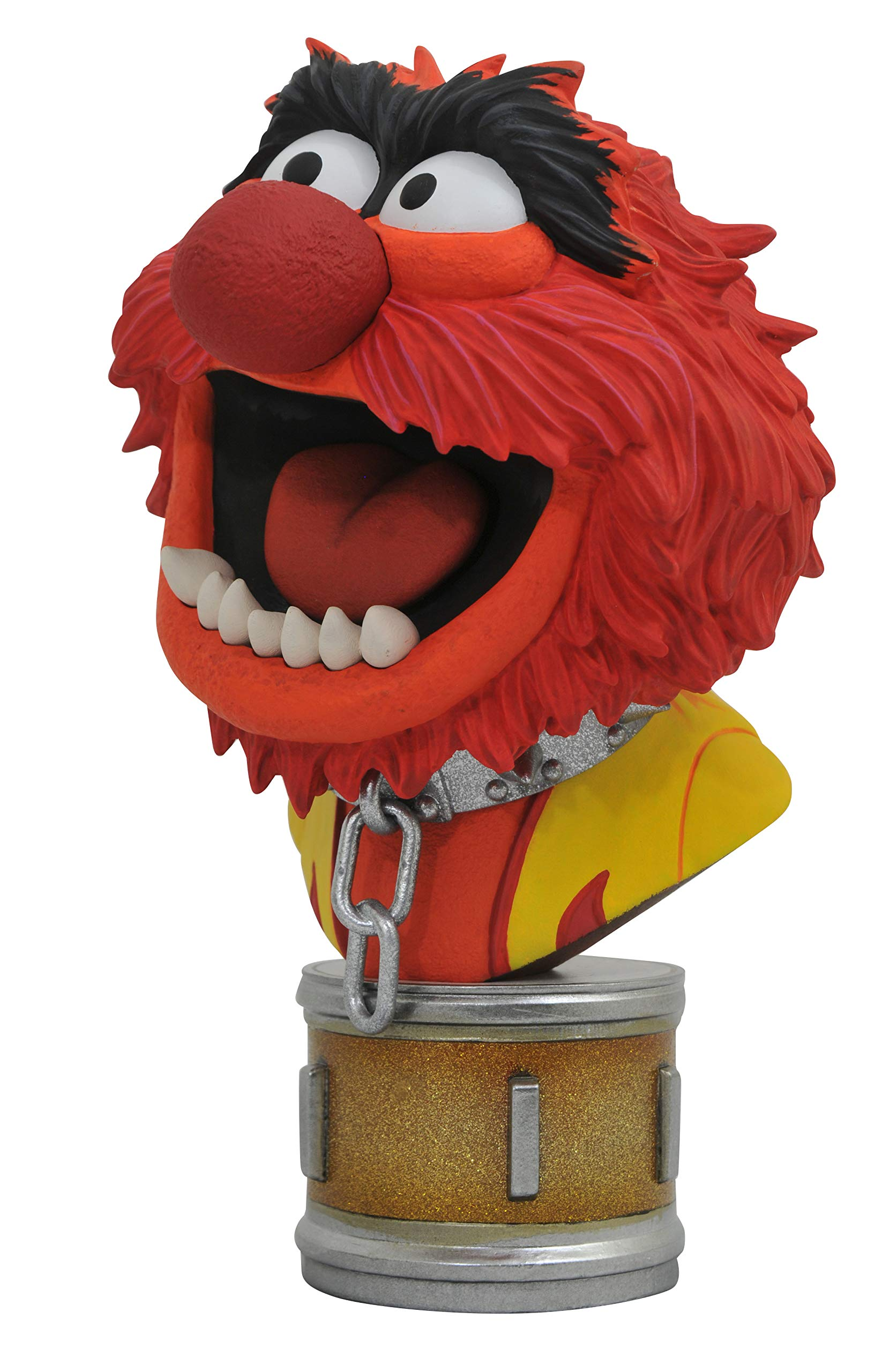 DIAMOND SELECT TOYS OCT182226 Select Toys Legends in 3-Dimensions: The Muppets Animal 1: 2 Scale Bust, Multicolor by DIAMOND SELECT TOYS (Image #5)