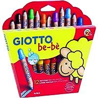 Giotto Fila Astuccio 12 Matitoni Bebe' Diametro Mina 7Mm Temperamatite Compreso 598,, 8000825002656