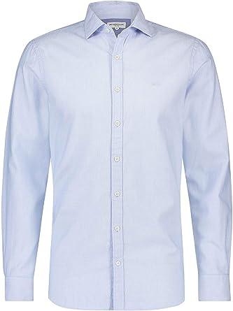 McGregor - Slim Fit Camisa de Dobby para los Hombres - Camisa ...