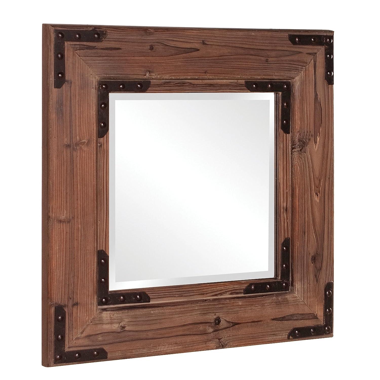 Amazon Howard Elliott 37069 Caldwell Square Mirror Natural