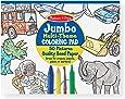 Melissa & Doug 4226 Jumbo Coloring Pad, Blue (11-inch x 14-inch)