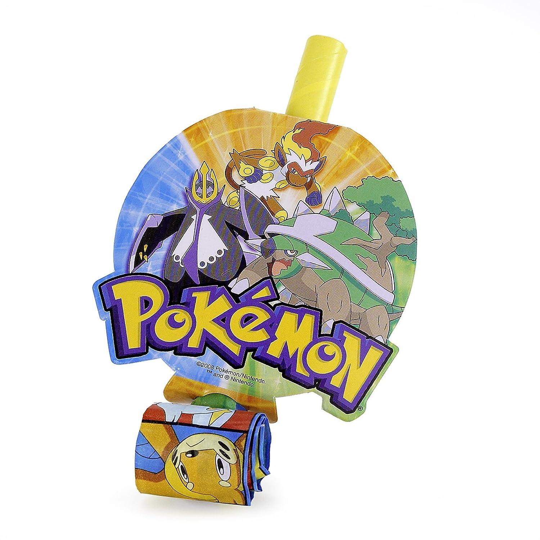 Pokemon Blowouts (8) Party Supplies