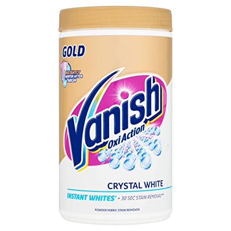 Vanish Fabric Stain Remover Gold Oxi Action Powder Crystal Whites