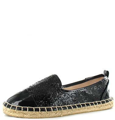Womens Ladies Flats Espadrilles Summer Holiday Pumps Sandals Girl Shoes Size 3-8