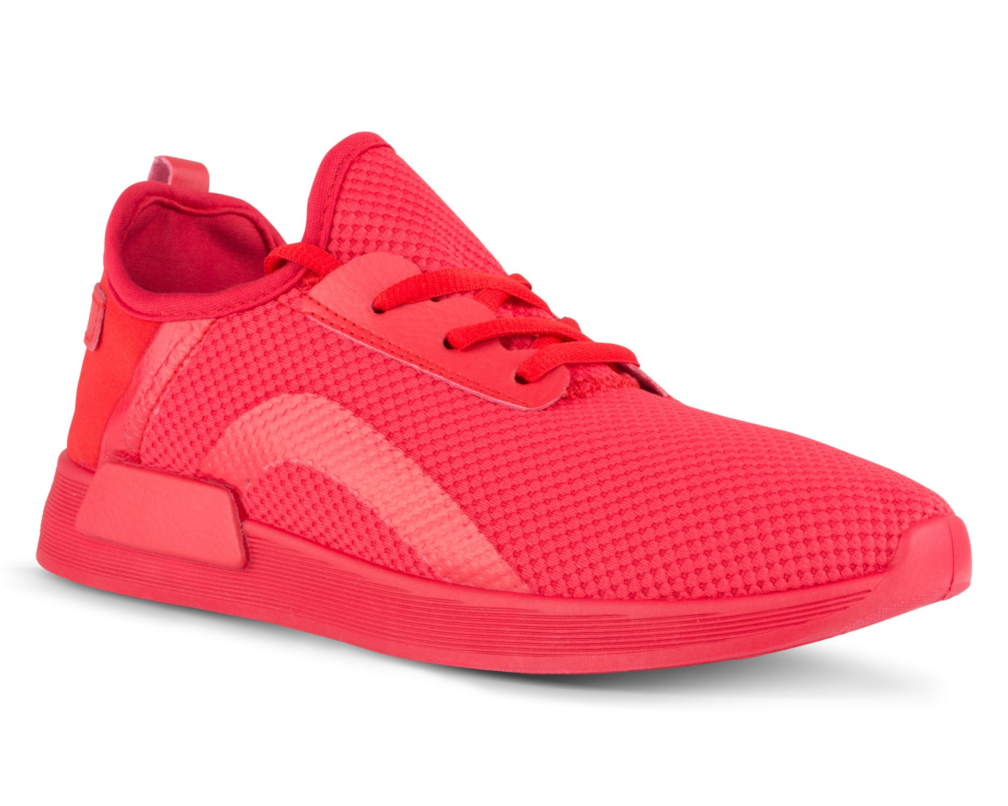 Twisted Womens Dimitria Lightweight Mesh Athletic Fashion Sneaker - DIMITRIA06 RED, Size 8.5