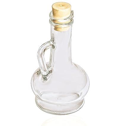 """Pasabahce 80109 - Botella de aceite y vinagre con corcho plástico Olivia Orient"""", juego"""