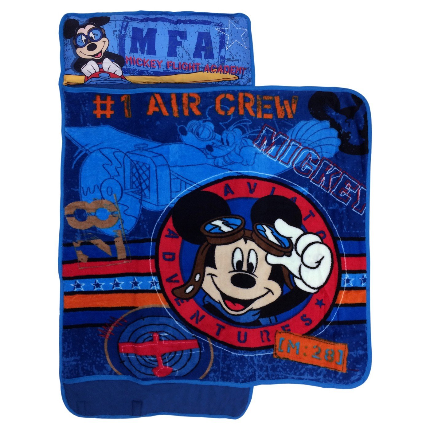 Mickey Mouse Kids Disney Nap Mat with Blanket