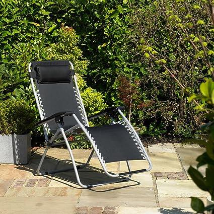 Strange Gravity Garden Reclining Sun Chair Lounger Fsgc Dailytribune Chair Design For Home Dailytribuneorg