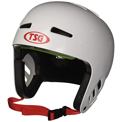 TSG - Dawn Flex Solid Color (White, L/XL 57-59 cm) Helmet for Bicycle Skateboard: Toys & Games