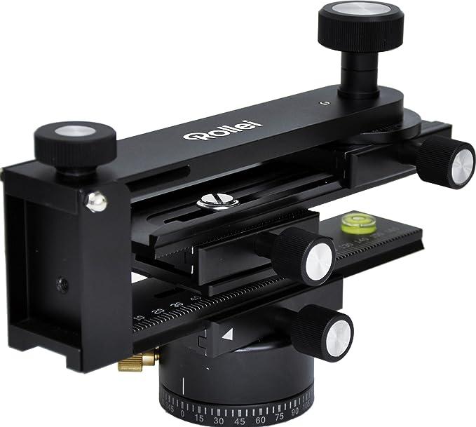 1 opinioni per Rollei Panoramic Head 200 Testa Panoramica, Alluminio, Carico Maximo 3 kg