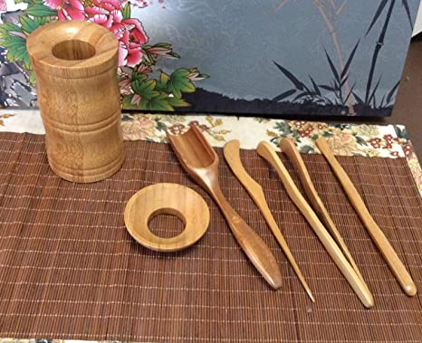 as described 15 Tea Ceremony Accessories Bamboo Tea Needles Kungfu Tea Tool Tea Utensil