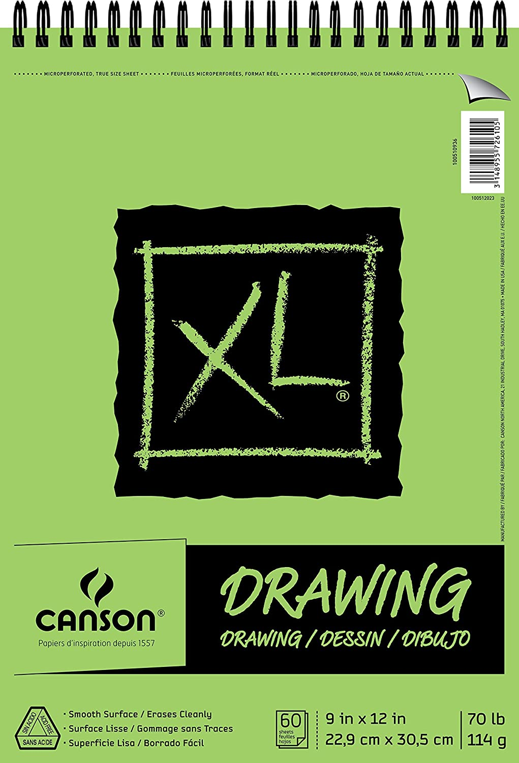 "Canson XL Series Drawing, 9"" x 12"""