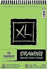 """CANSON XL Cuaderno de dibujo, 9"""" x 12"""""""