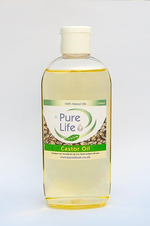 Aceite de ricino – grado farmacéutico, puro y natural aromaterapia aceite, disponible en 100