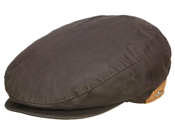ff1b531c Wigens Men's Flat Cap Walker Gore-Tex - brown: Amazon.co.uk: Clothing