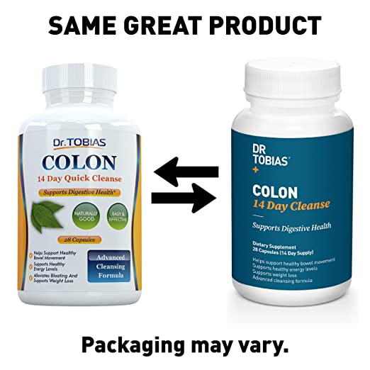 Optimum Colon: 14 Days Quick Cleanse to Support Detox, Weight Loss & Increased Energy Levels by Dr. Tobias: Amazon.es: Salud y cuidado personal