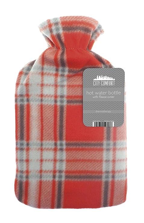 Bolsa para agua caliente, 2 L, goma natural, ideal para ...