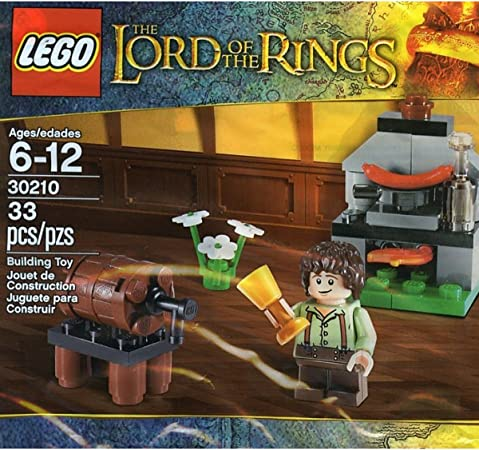LEGO El Señor De Los Anillos: Frodo Baggins Con Cooking Corner Establecer 30210 (Bolsas): Amazon.es: Juguetes y juegos