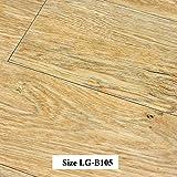 LaCyan Tablones de suelo de PVC Autoadhesivo Azulejos de piso (36pcs(unos 5 m²