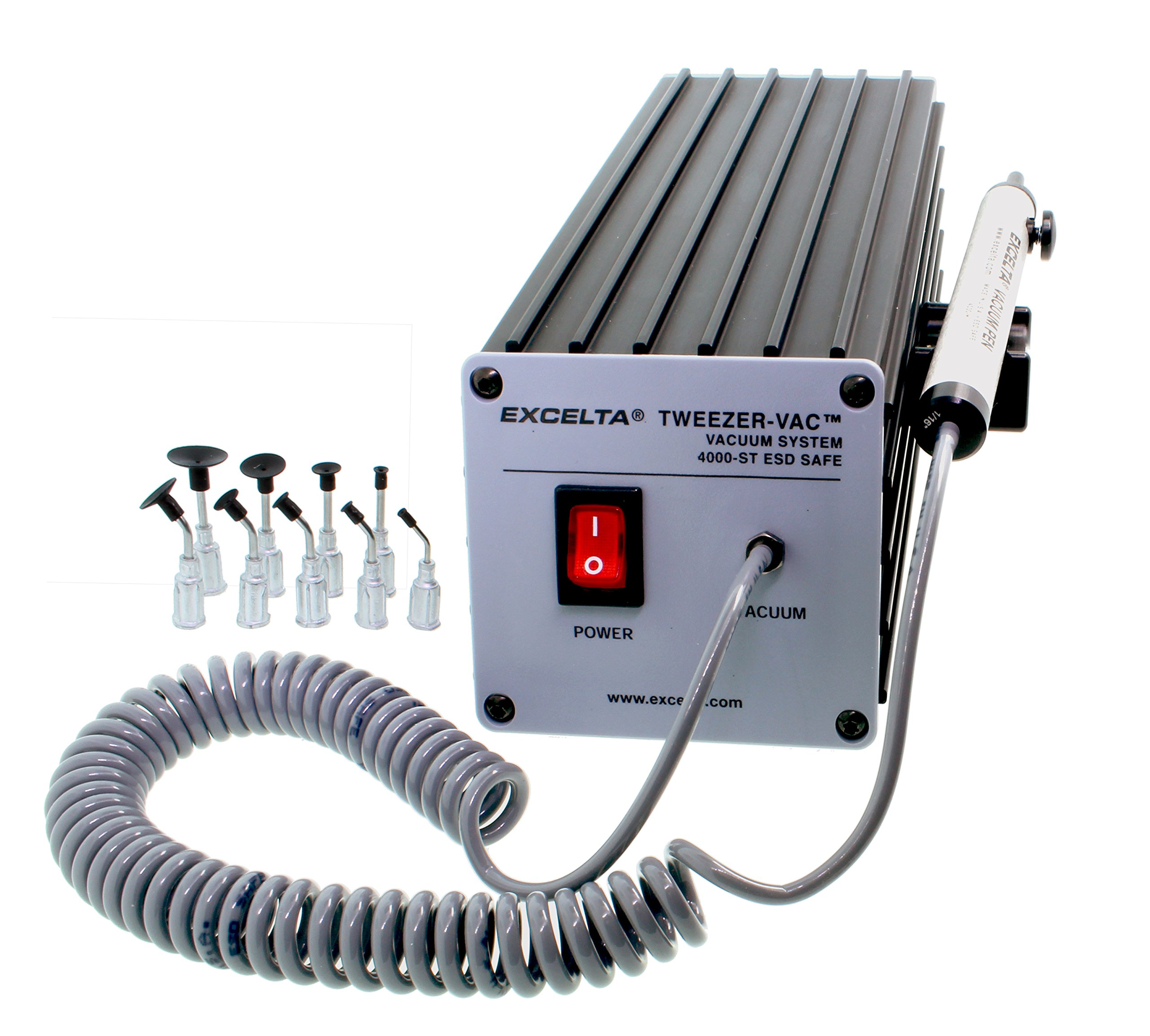 Excelta 10'' General Purpose Vacuum Pickup System - EX-4000-ST