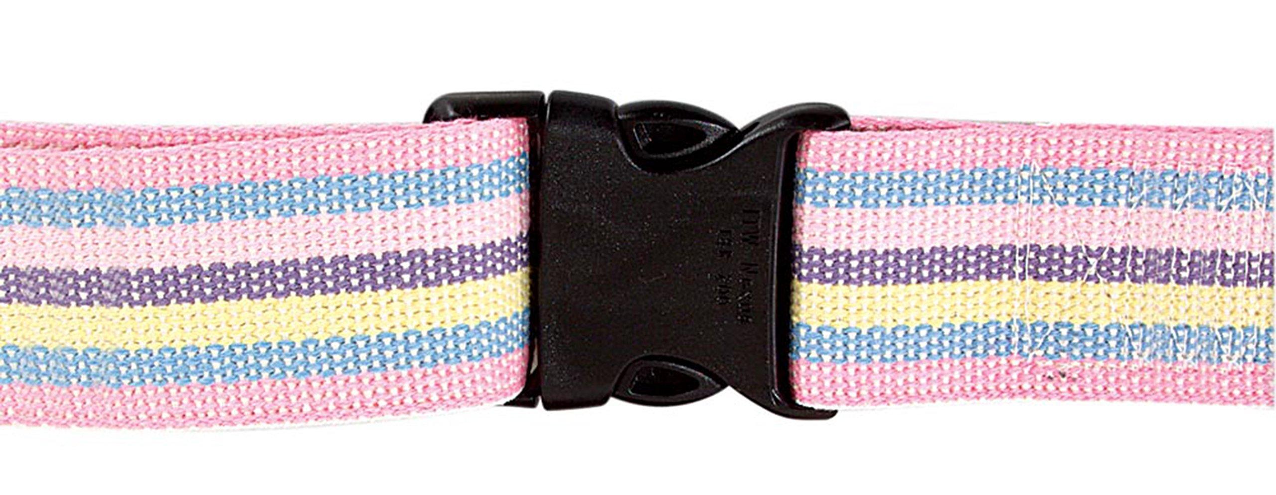 AliMed Gait Belt - Patient Transfer Belt, Plastic Buckle, 54'', Pastel, 20/cs