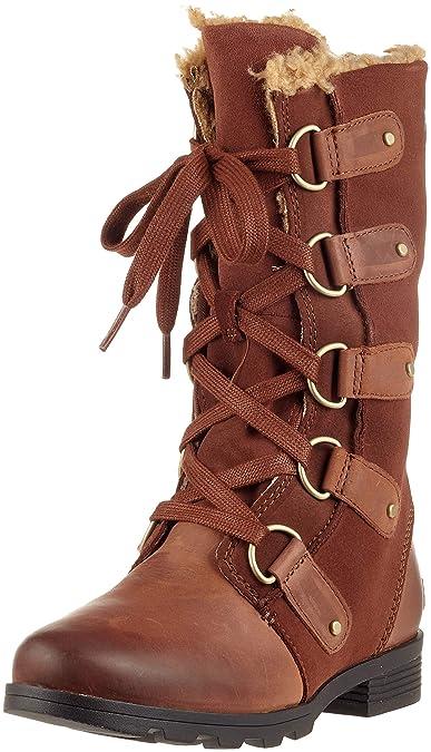 66f063548f3a Sorel Women s s Emelie Lace Boots  Amazon.co.uk  Shoes   Bags